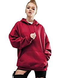 Tonsee Femmes manches longues Hoodie Sweat-shirt occasionnels manteau Hooded Pullover