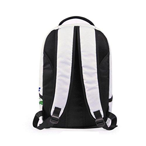 Lanspo 3D Galaxy Travel Satchel Rucksack Rucksack Schulter Bookbag Schulbeutel Unisex Damen Herren Outdoor Sport Camping Rucksack Creative Pop Bag C
