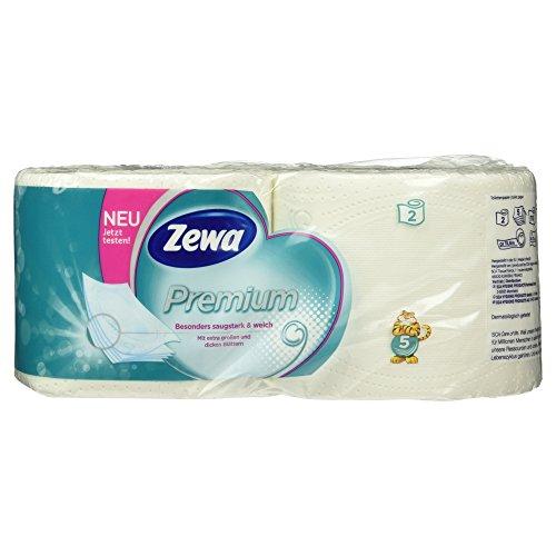 Zewa Premium 5-lagig Toilettenpapier, 2 Stück