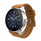 Biback Fitness Tracker Smart Watch für Männer Activity Tracker Pulsmesser Fitness Watch Waterproof Smart Uhren Schritt Tracker Uhr 1.28 Zoll Bluetooth Calling