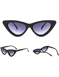 Vbiger Unisex Occhiali da Sole Retro Occhiali Cat Eye Triangle Occhiali XnZGMzGO