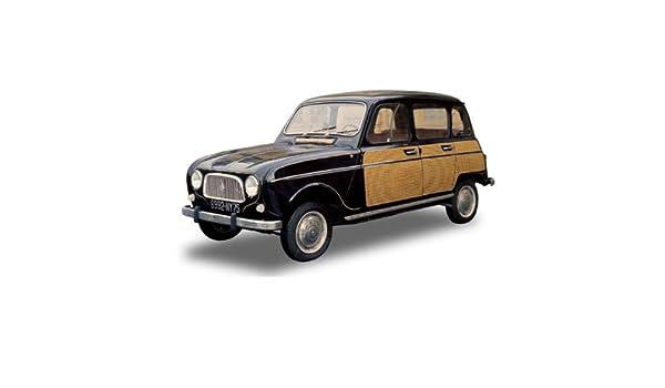 Renault 4l Parisienne Schwarz Gelb Norev 118 Amazon Toys