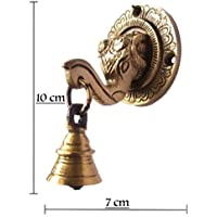 Yes I Can Brass Elephant Mouth Door Knocker   Home Decor   Door Decor   Brass Door Knocker(Pack of 1)