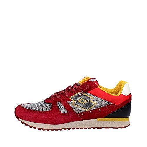 LOTTO scarpe uomo sneakers basse S8836 TOKYO SHIBUYA Rosso Precio Barato Profesional Genuina Precio Barato Real Venta Barata Proveedor Más Grande lkGfzth12