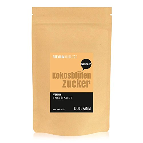 Wohltuer Kokosblütenzucker Konventionell, 1er Pack (1 x 1 kg)