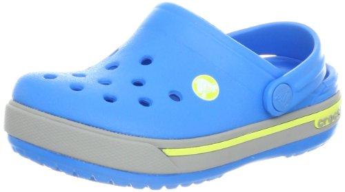 Crocs Band, Sabots mixte enfant Bleu (Ocean/Citrus)