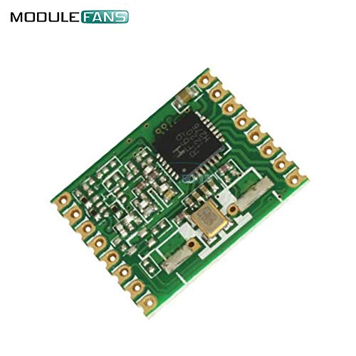 Rf-sensor (RFM69HW 868Mhz 20dBm HopeRF DrahtLoser Transceiver 868S2 Modul Remote FIR Kanal Filter Board automatische RF-Sensor Temperatur)