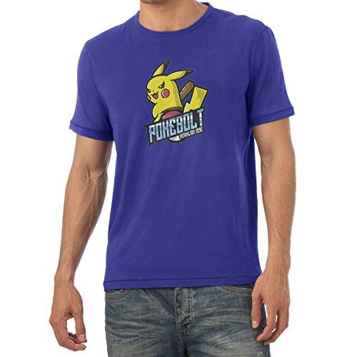 TEXLAB - Pokebolt Vermilion 1996 - Herren T-Shirt Marine