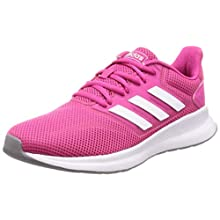 adidas Damen Falcon Road Running Shoe, Rot (Real Magenta/Footwear White/Grey 0), 40 2/3 EU