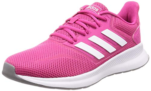 adidas Damen RUNFALCON Road Running Shoe, Real Magenta Cloud White Grey, 40 EU