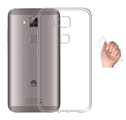 Minto Ultradünn TPU Hülle iPhone 8 Plus / iPhone 7 Plus Silikon Schutzhülle Handyhülle Case Crystal Cover Durchsichtig transparent 0.6mm G8