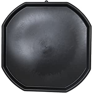 Large Black Plastic Builders Mixing Tray Spot for Cement Mortar Sand Plastering