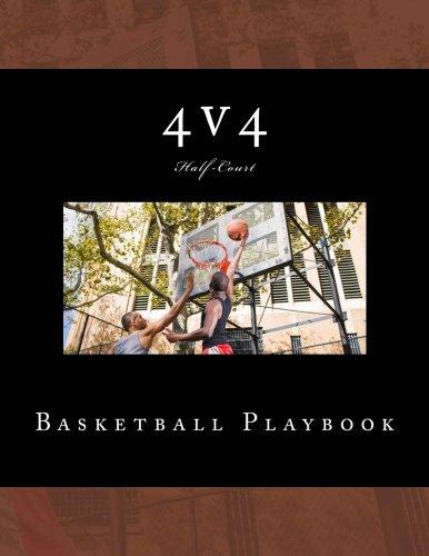 4v4 Basketball Playbook: 50 Half-Court Templates