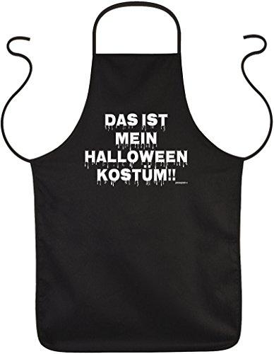Sprüche Grillschürze/Motiv-Schürze Halloween: Das ist mein Halloween Kostüm!! ()