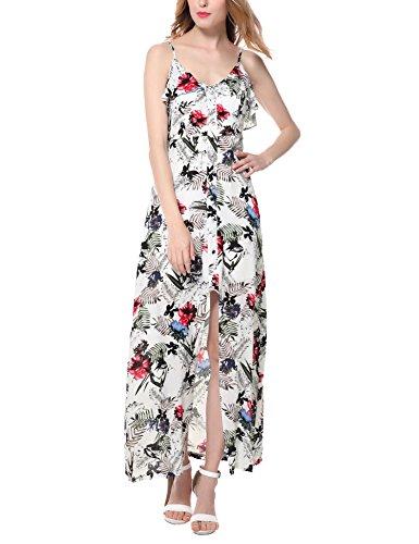 Vessos - Tuta - stile impero -  donna White Flower