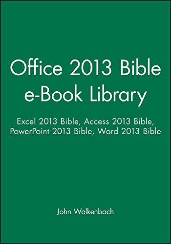 Excel 2013 Bible Ebook
