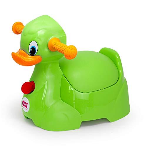 Ok Baby - Quack - il Divertente Vasino a Forma di Papera Verde - 37074430