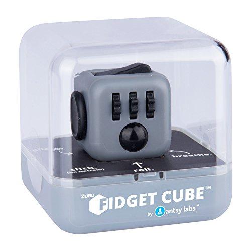 Preisvergleich Produktbild Fidget Cubes - 34552 - Original Cube von Antsy Labs - Graphite - Spielzeug