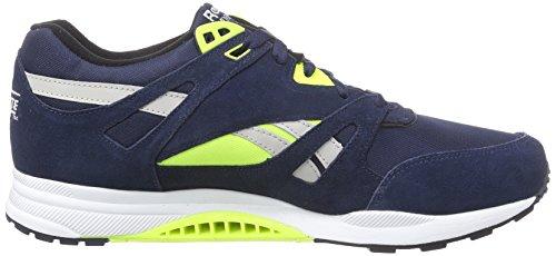 Reebok - Ventilator Pop, Sneakers, unisex Blu (faux indigo/blk/wht/solar yellow/steel)
