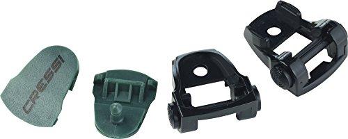 Cressi Buckles Assembly for Diving Mask, dark green/black -