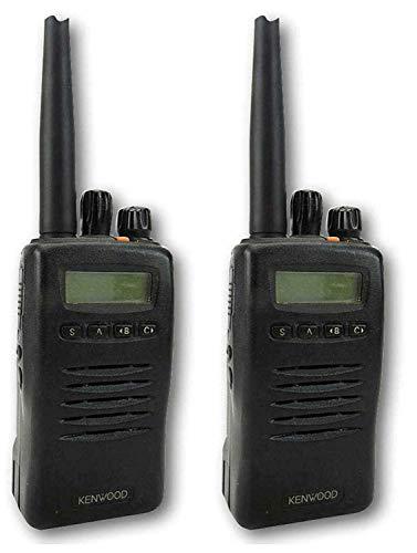 Kenwood TK3140 Uhf 4 Watt Walkie-Talkie Walkie-Talkies X 2