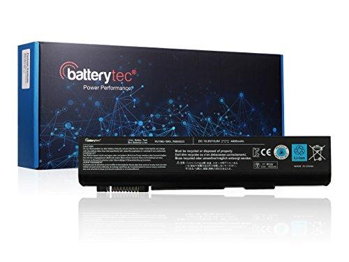 Batterytec® Batterie pour TOSHIBA PA3788U-1BRS PA3786U-1BRS PA3787U-1BRS PA3788U-1BRS PABAS221 PABAS222 PABAS223,TOSHIBA Tecra A11 M11 S11, Toshiba Dynabook Satellite PB551, Toshiba Satellite Pro S500. [10.8V 4400Wh 12 mois de garantie]