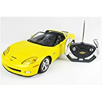. Model car Car Vehicle, Remote Controlled Car CHEVROLET C6 GS 1:12 including remote control - YELLOW - Compare prices on radiocontrollers.eu