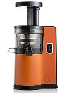 Sana by OMEGA 808 - Extracteur de Jus Vertical - Orange