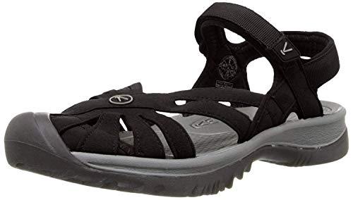 Keen Damen Rose Sandal Trekking-& Wanderschuhe, Schwarz (Black / Neutral Grey), 38 EU