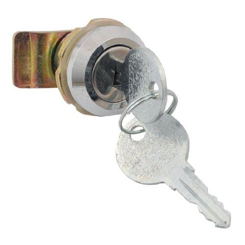Schrank Schreibtisch Schublade 19.5x 8mm Gewinde Tubular Cam Lock w Schlüssel