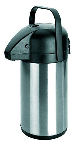 IBILI Pump-Isolierkanne 2,2 l aus Edelstahl/Kunststoff, Mehrfarbig, 17 x 17 x 35 cm
