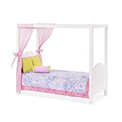 Our Generation 70.37061 18-Inch My Sweet Canopy Bed