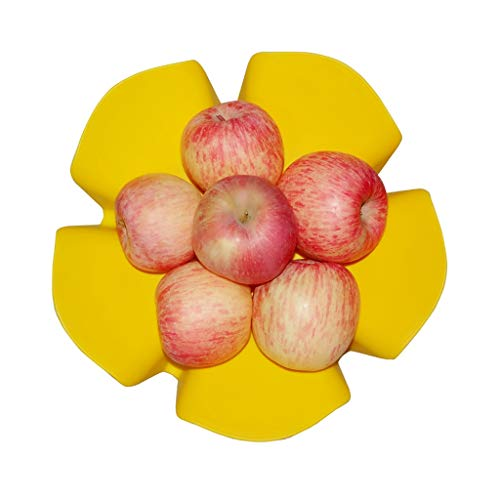 ZHAOSHUNLI Corbeilles à Fruits Assiette de Fruits Seau de Fruits Creative Flower Fruit Storage Drain Basket Fashion Fashion Plastic (Couleur : Le Jaune) Pdf - ePub - Audiolivre Telecharger