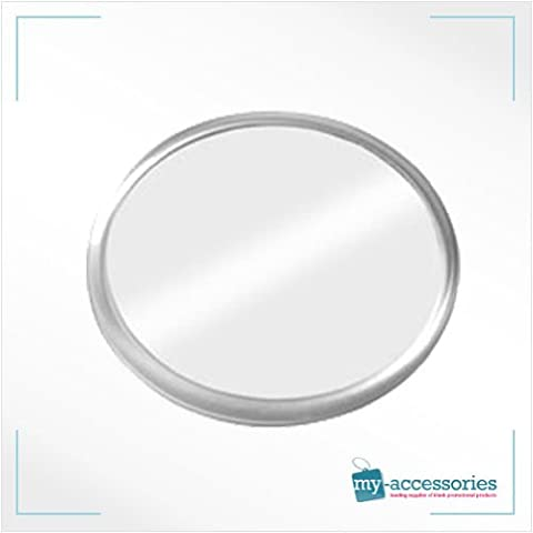Blank Round Coaster Insert Printed /Photo /Cross Stitch Personalised Marketing - Plastic (CR02) 80mm Dia - Pack of 10