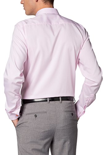 ETERNA long sleeve Shirt SLIM FIT Pinpoint uni Rosa