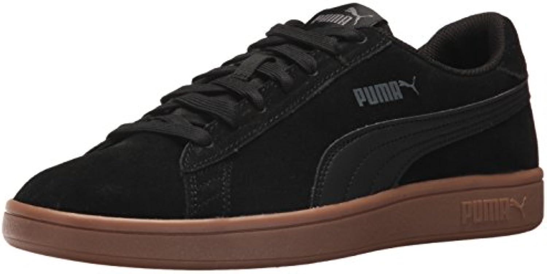 PUMA Men's Smash v2 Sneaker  Black Black  10 M US
