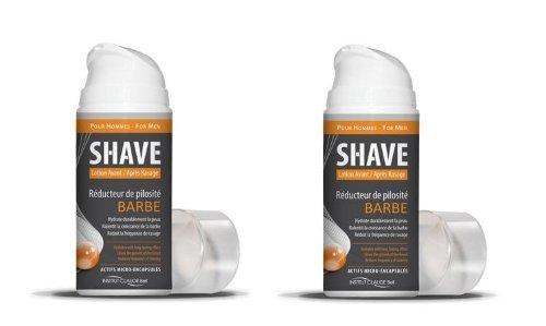 Shave - Haar-Reduzierung für Bart - 150 ml (2 Flaschen)