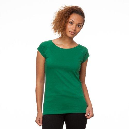 La La Cap Sleeve T-shirt (ThokkThokk TT01 Cap Sleeve Verdant Green aus 100% Biobaumwolle hergestellt // GOTS und Fairtrade zertifiziert, Größe:XL)