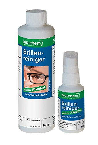 SPARSET Der Brillenreiniger 50ml Pumpflasche + 250ml Nachfüllflasche