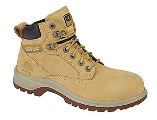 Caterpillar CAT Kitson ST P304090 Leather Safety Boots Honey