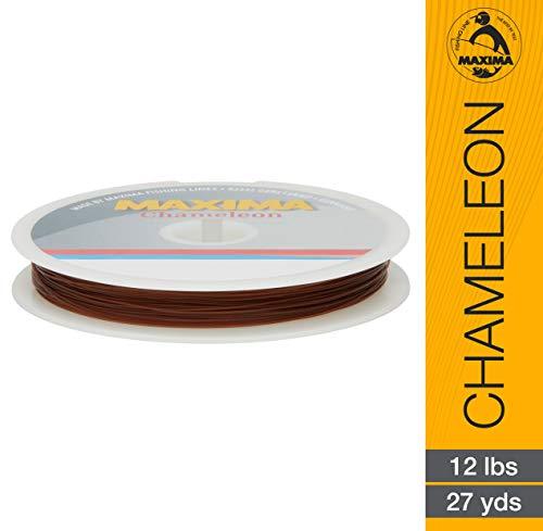 Maxima Leader Rad (12-pound Test), Chameleon, 27-yard von Maxima Angelschnur -