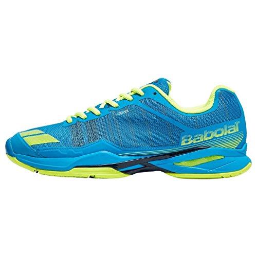 Babolat Jet Team Zapatos de tenis para hombre Deportes Zapatillas Entrenadores Azul, Azul, 43