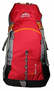 MOUNT TRACK Gear Up 60Ltrs Red Rucksack