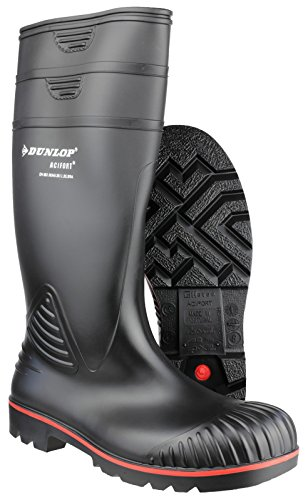 Dunlop Acifort Heavy Duty Sicherheit Wellingtons Black