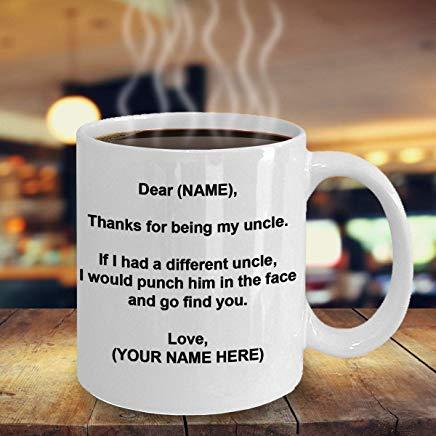 My Uncle a un super nièce-Oncle Cadeau-Cadeau pour l/'oncle de nièce-family mug