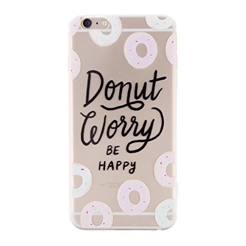 Generic Klar Donut Kreisringmuster Telefon-Kastenabdeckung Shell Für Iphone 6 6s 6 Plus - Für Iphone 6 Plus Color1 Für Iphone 6 Plus Color 8