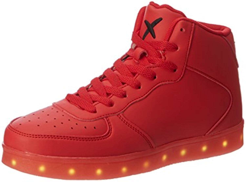 wize  ope Unisex Erwachsene LED Hi Hohe Sneaker