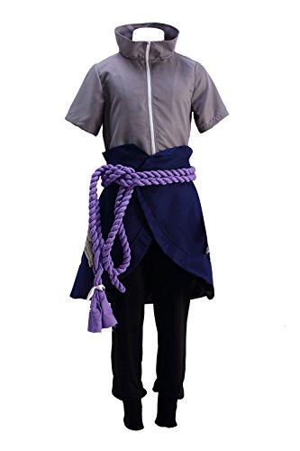 Ball Kostüm Cotton - Chong Seng CHIUS Cosplay Costume Hidden Leaf Ninja/Shinobi Uchiha Sasuke Outfit Ver 6
