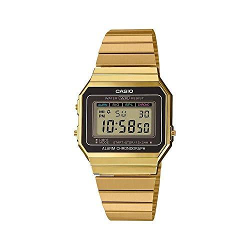 Casio Vintage Damen-Armbanduhr A700WEG-9AEF