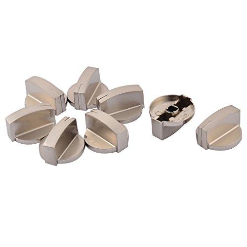 Preisvergleich Produktbild 8 Stück Küche Metall Gasherd Ofen Herd Wärme Brandschutz Bereichschalter Knauf